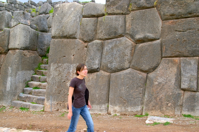 Joylani at Sacsaywaman