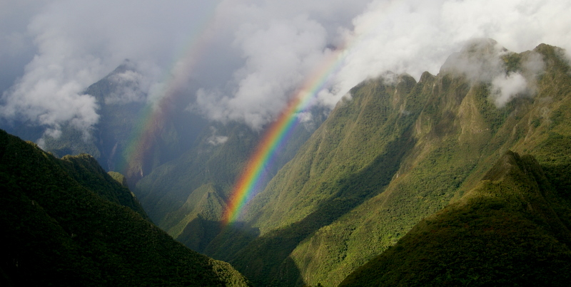 Rainbow in the Sacred Valley